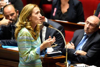 Nicole Belloubet, ministre de la Justice, Garde des Sceaux