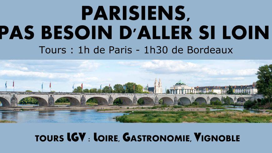 L'affiche postée sur les réseaux sociaux de la ville de Tours