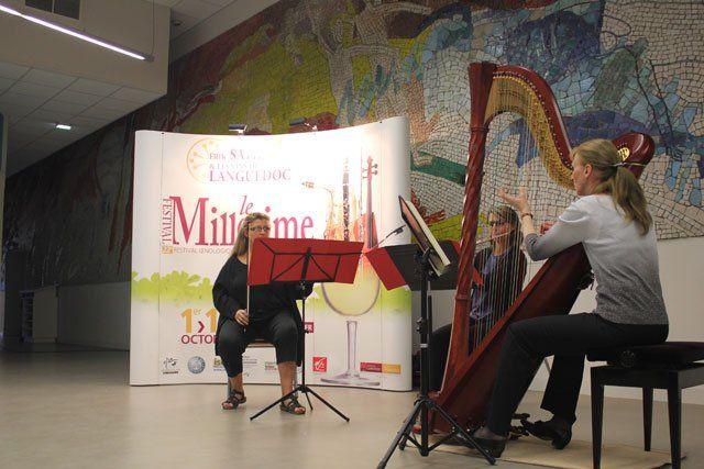 l'association des vins et des musiques colore la ville de son ambiance éclectique
