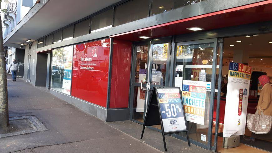 Le magasin Monoprix du Raincy, ce vendredi 6 octobre
