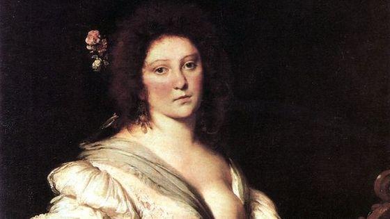 Portrait présumé de Barbara Strozzi par Bernardo Strozzi vers 1630