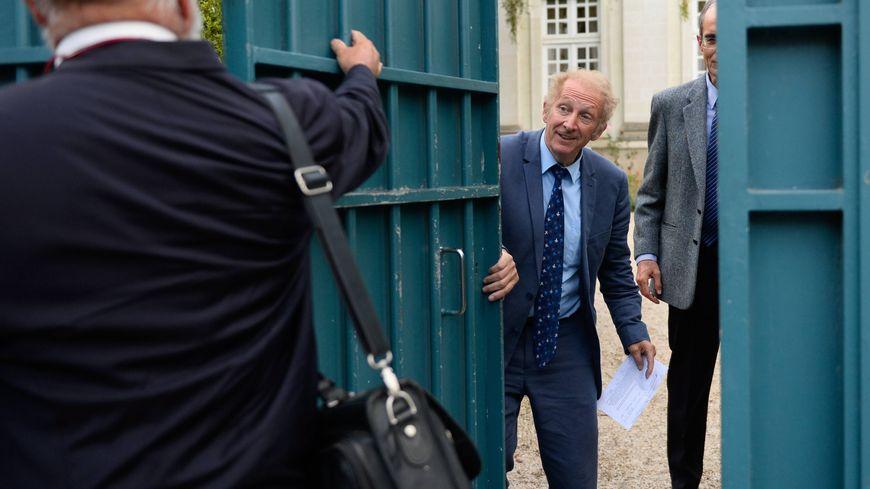 Gérard Feldzer, à la sortie de la préfecture, à Nantes, le 26 septembre 2017