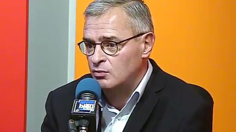 Marc Joulaud, maire de Sablé et président de l'association des maires de la Sarthe
