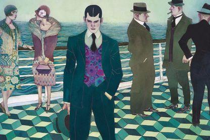 Détail de la couverture du Joueur d'échecs, adaptation par David Sala du livre de Stefan Zweig