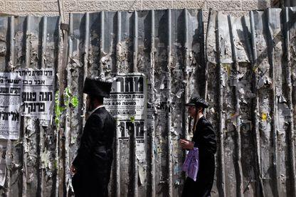 Ultraorthodoxes à Jérusalem