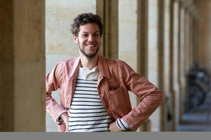 Raphaël Pichon contre-ténor, chef de chœur et chef d'orchestre le 14 avril 2015 à l'Opéra de Bordeaux