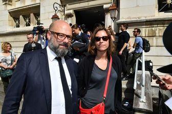 Les avocats des époux Jacob, Stéphane Giuranna et Laure Iogna-Prat, lors de leur audition au tribunal de Dijon le 16 juin dernier