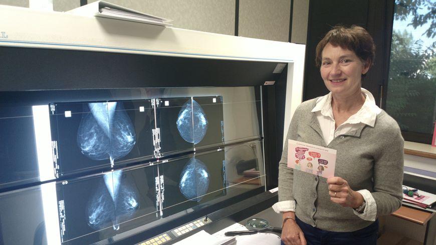 Docteur Françoise Deshayes, médecin coordinateur chargé du dépistage du cancer du sein.