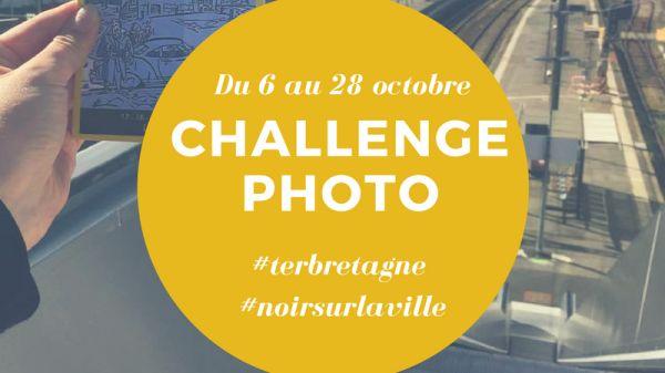 Visuel du concours photo sur Instagram du Festival Noir sur la Ville
