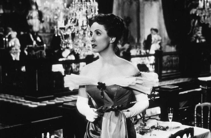 """Danielle Darrieux dans """"Madame de"""" de Max Ophüls, 1953"""
