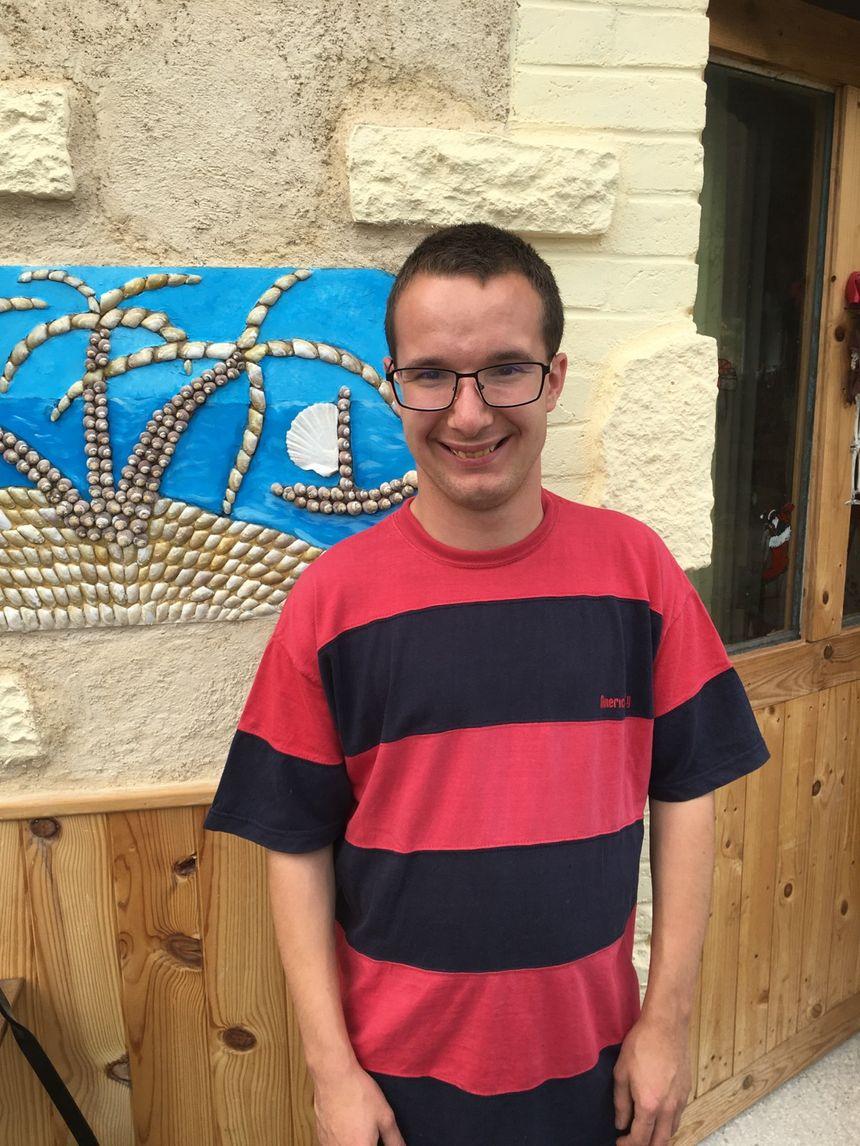 Jérôme, autiste et étudiant en Bourgogne