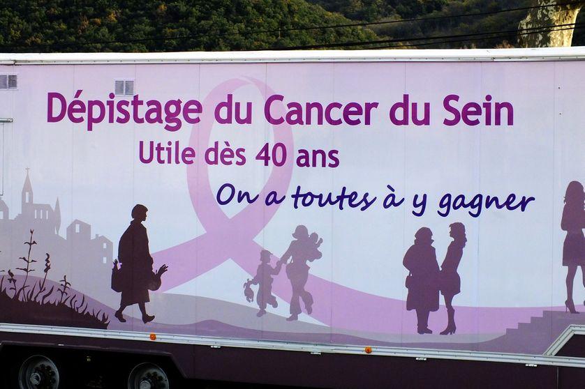 Affiche pour le dépistage du cancer du sein