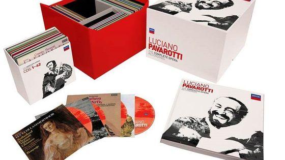Le coffret de 101 disques sort le 10 novembre