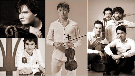 Quatuor Eclisses © quatuoreclisses.com | Jean-Michel Dubé © facebook | Brieuc Vourch ©brieucvourch.com | Ingmar Lazar © Kirill Bashkirov/ ingmarlazar.com