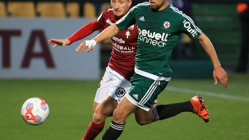 Le défenseur messin Ivan Balliu, en 2016, à l'occasion d'un match de Ligue 2 contre le Red Star
