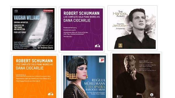 Actualité du disque : Handel, Mattheson, Schumann...
