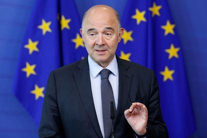 Pierre Moscovici à Bruxelles le 12 juillet 2017