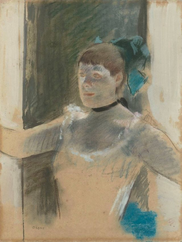 Etude pour le buste d'une danseuse Edgar Degas