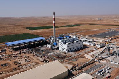 L'usine Lafarge en Syrie