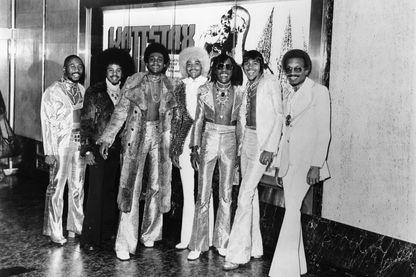 Photo du Festival Wattstax avec le groupe de funk The Bar-Kays
