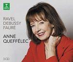 Ravel Debussy Fauré - Anne Queffélec
