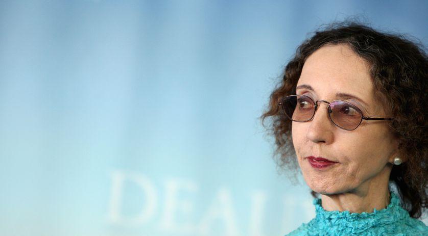 Joyce Carol Oates à Deauville en 2010