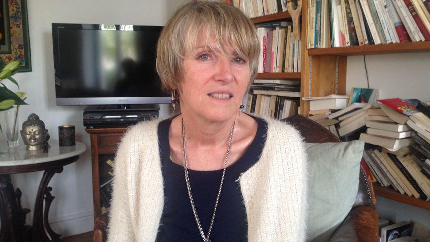 La Saintaise Anne Bert à son domicile de Saintes en mars 2017