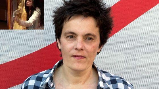 Hélène Breschand au studio 107 de RF et Georgia Spiropoulos par Irini Zevgoli