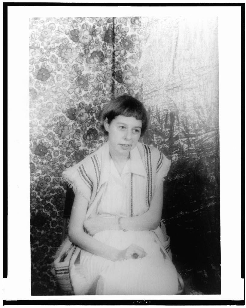Portrait de Carson McCullers en juillet 1959 (Source: Library of Congress, Prints & Photographs Division, Carl Van Vechten Collection)