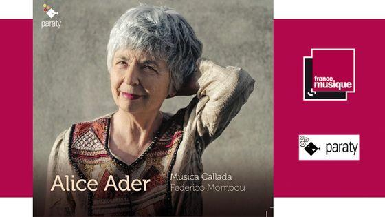 Federico Mompou - Musica Callada par Alice Ader