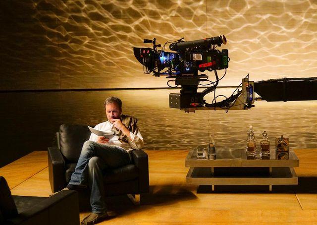 "Denis Villeneuve pendant le tournage de ""Blade Runner 2049"""