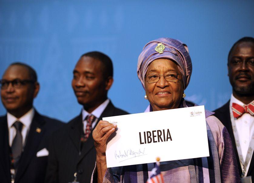 Ellen Johnson Sirlea est présidente de la République au Libéria depuis le 16 janvier 2006.