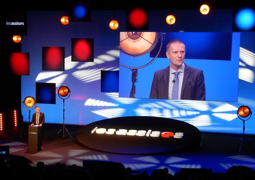 Guillaume Poupard, le patron de l'ANSSI, ici en ouverture des Assises de Monaco, demande que chaque pays de l'Union veille à sa cybersécurité avant de prioriser la coopération européenne