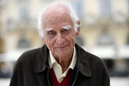 Michel Serres pendant la 39ème édition du Livre sur la Place, le 10 septembre 2017.