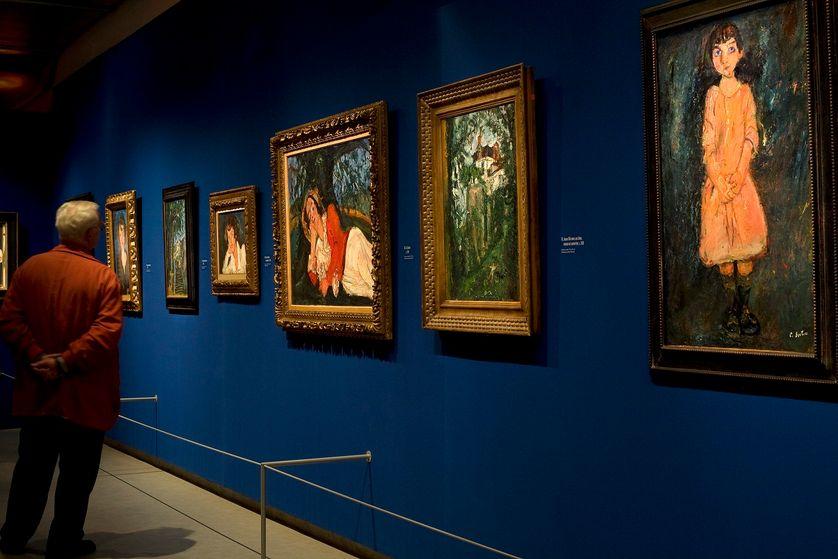 Exposition sur le peintre Chaïm Soutine, en 2007, alors que la Pinacothèque de Paris vient d'ouvrir ses portes.