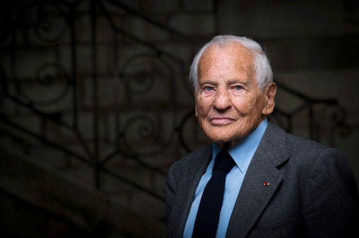 Jean d'Ormesson, Paris, le 9 avril 2015