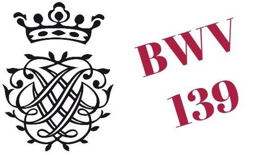 Monogramme de Bach - BWV 139