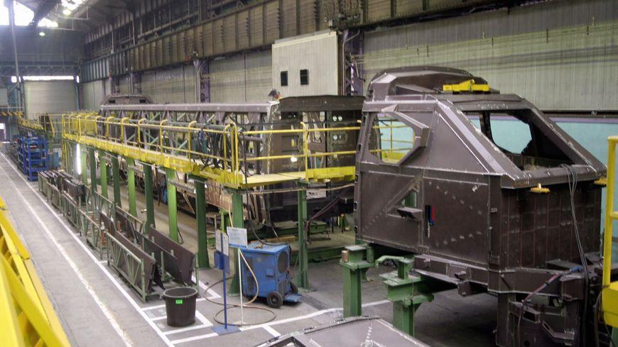 Les ateliers d'Alstom à Belfort devraient profiter de ce nouveau contrat en passe d'être signé avec le Maroc