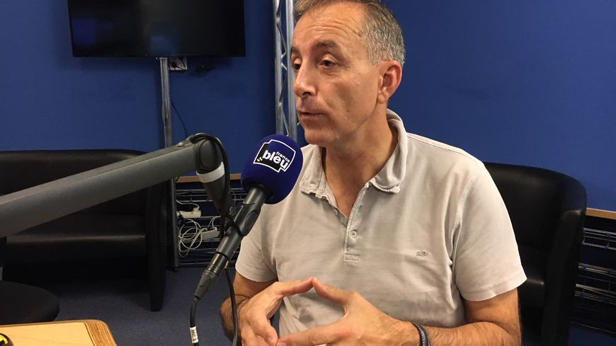 Philippe Perrin, pilote d'essai chez Airbus à Toulouse, qui a volé dans l'Espace en 2002.