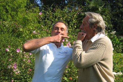 Denis Cheissoux avec Jean Rochefort
