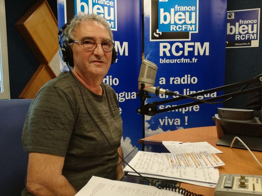 """Tête de liste de """"L'avenir, la Corse en commun"""", Jacques Casamarta était ce lundi l'invité du Club de la Presse sur RCFM."""