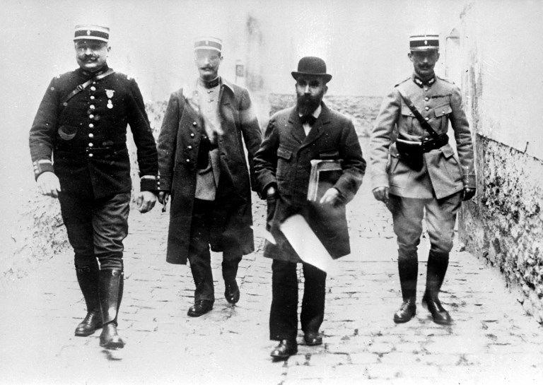 L'affaire Landru : le criminel Henri Désiré Landru se rend a son procès, 1921.