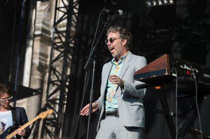 Baxter Dury en concert à la Fnac Live le 17 juillet 2015 à Paris.