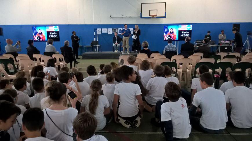 Le collège-lycée des Maristes à Toulouse a reçu l'américain Kevin Kregel et le russe Alexander Samokutyaev.