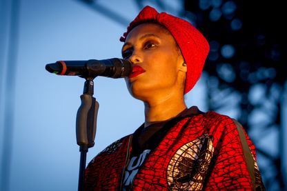 La chanteuse Imany