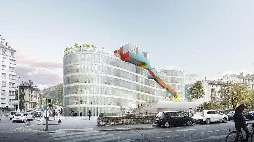 Le futur parking Ravet pourra accueillir 500 véhicules près du centre-ville début 2019