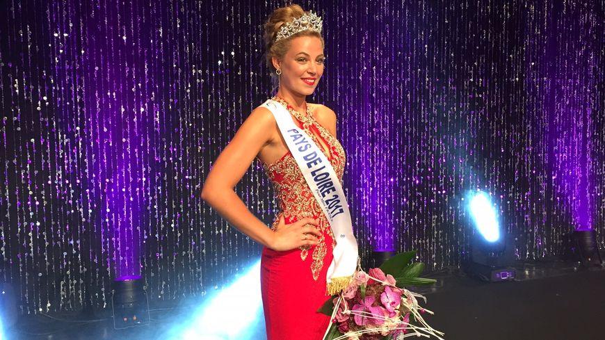 Chloé Guémard, 20 ans, est élue Miss Pays de Loire 2017