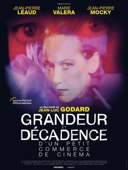 Affiche de Grandeur et décadence d'un petit commerce de cinéma de Jean-Luc Godard