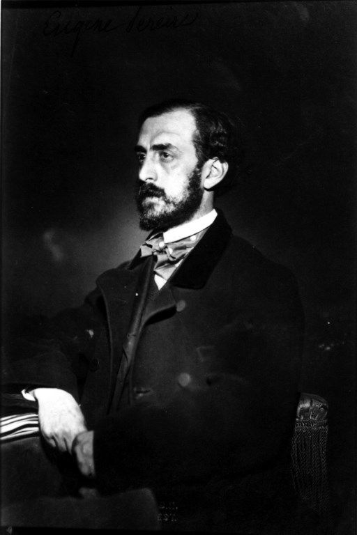 Emile Pereire (1800-1875) photographié par Nadar