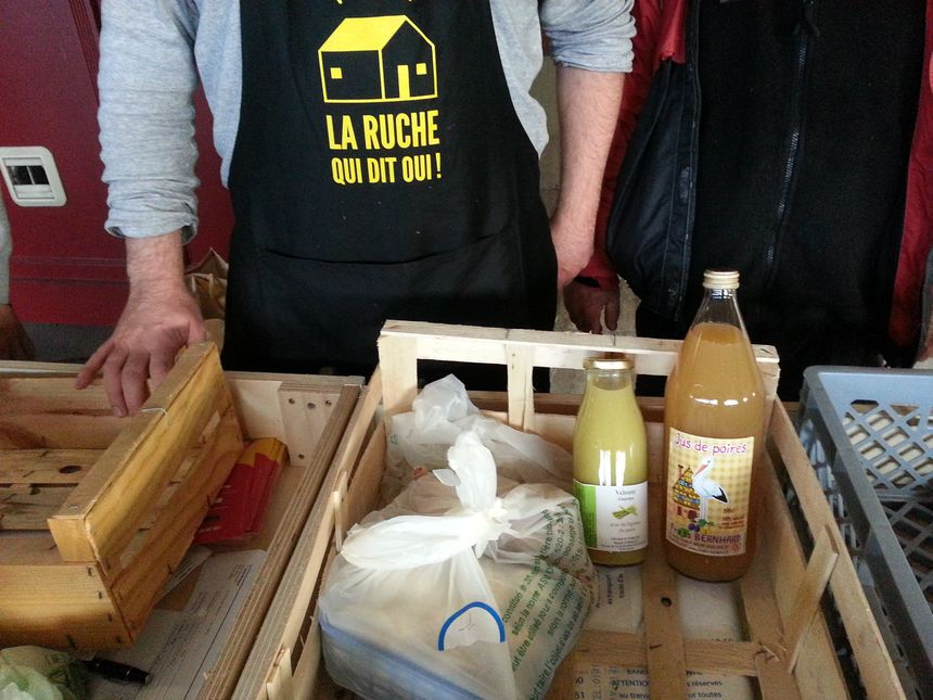 Des produits locaux sont proposés aux consomateurs